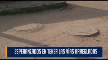 ESPERANZADOS EN TENER LAS VÍAS ARREGLADAS