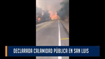 En San Luis, se declaró la calamidad pública para hacerle frente al verano.