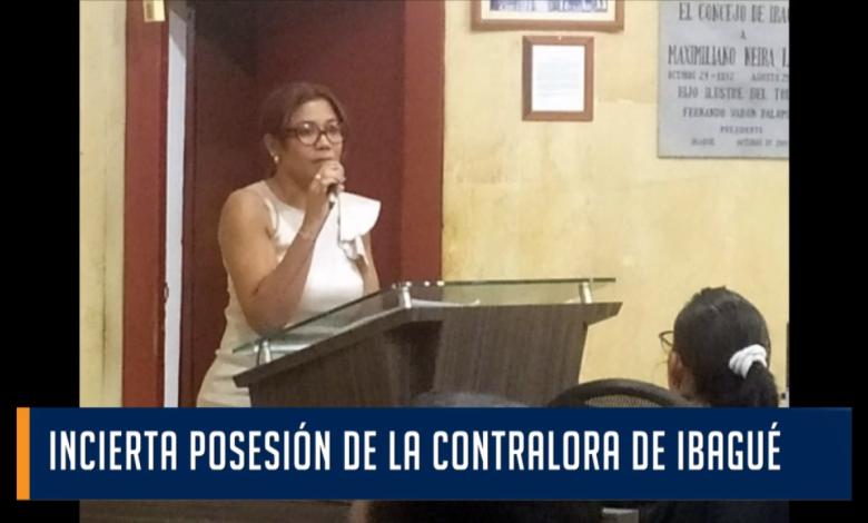 INCIERTA POSESIÓN DE LA CONTRALORA DE IBAGUÉ