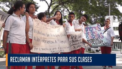 Por falta de intérpretes población sorda no iniciado clases en el colegio