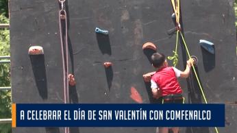 A CELEBRAR EL DÍA DE SAN VALENTÍN CON COMFENALCO