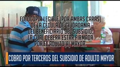 Photo of Confusión en el cobro del subsidio del adulto mayor