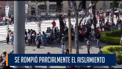 SE ROMPIÓ PARCIALMENTE EL AISLAMIENTO