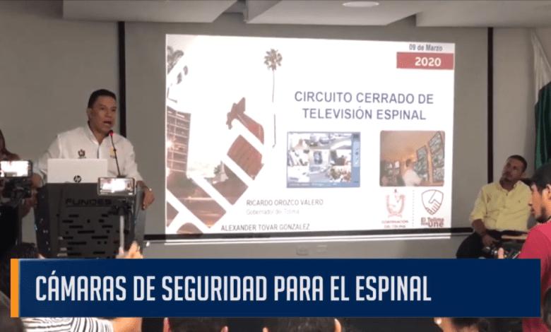 CÁMARAS DE SEGURIDAD PARA EL ESPINAL