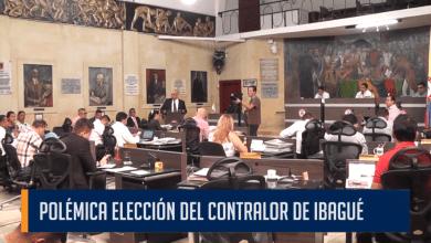 POLÉMICA ELECCIÓN DEL CONTRALOR DE IBAGUÉ