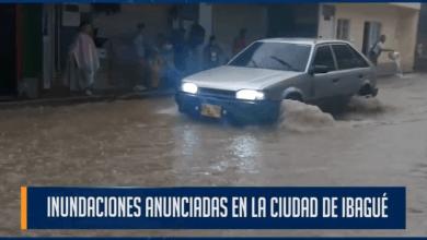 Photo of Inundaciones anunciadas en la ciudad de ibagué