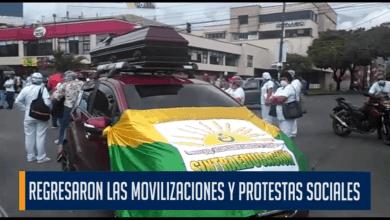 Photo of Ibagué fue nuevamente escenario de las protestas sociales en contra del gobierno del presidente Ivan Duque