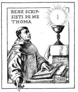 Santo Tomás de Aquino (1225 - 1274)