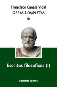 Vol. 6, Escritos filosóficos (I)