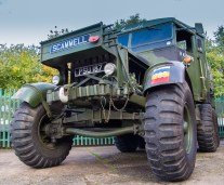 Scammell army truck dating from the second world war, 1940...