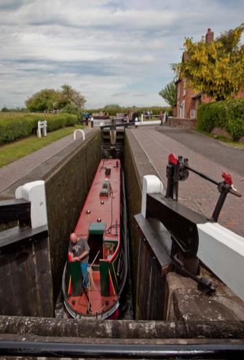 Upper lock.