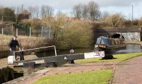 Leaving Ashted Tunnel, approaching LOck 2