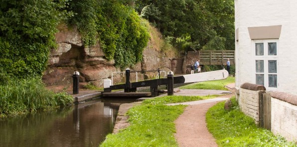 Debdale Lock 9 Grade 2 listed see link in caption.