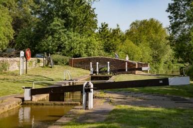 Allen's Lock 36 and Allen's Bridge 204 at Upper Heyford.