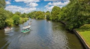 River Avon heading north