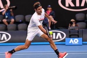 Federer volea Open de Australia 2018