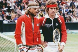 Borg y McEnroe en Wimbledon 1980