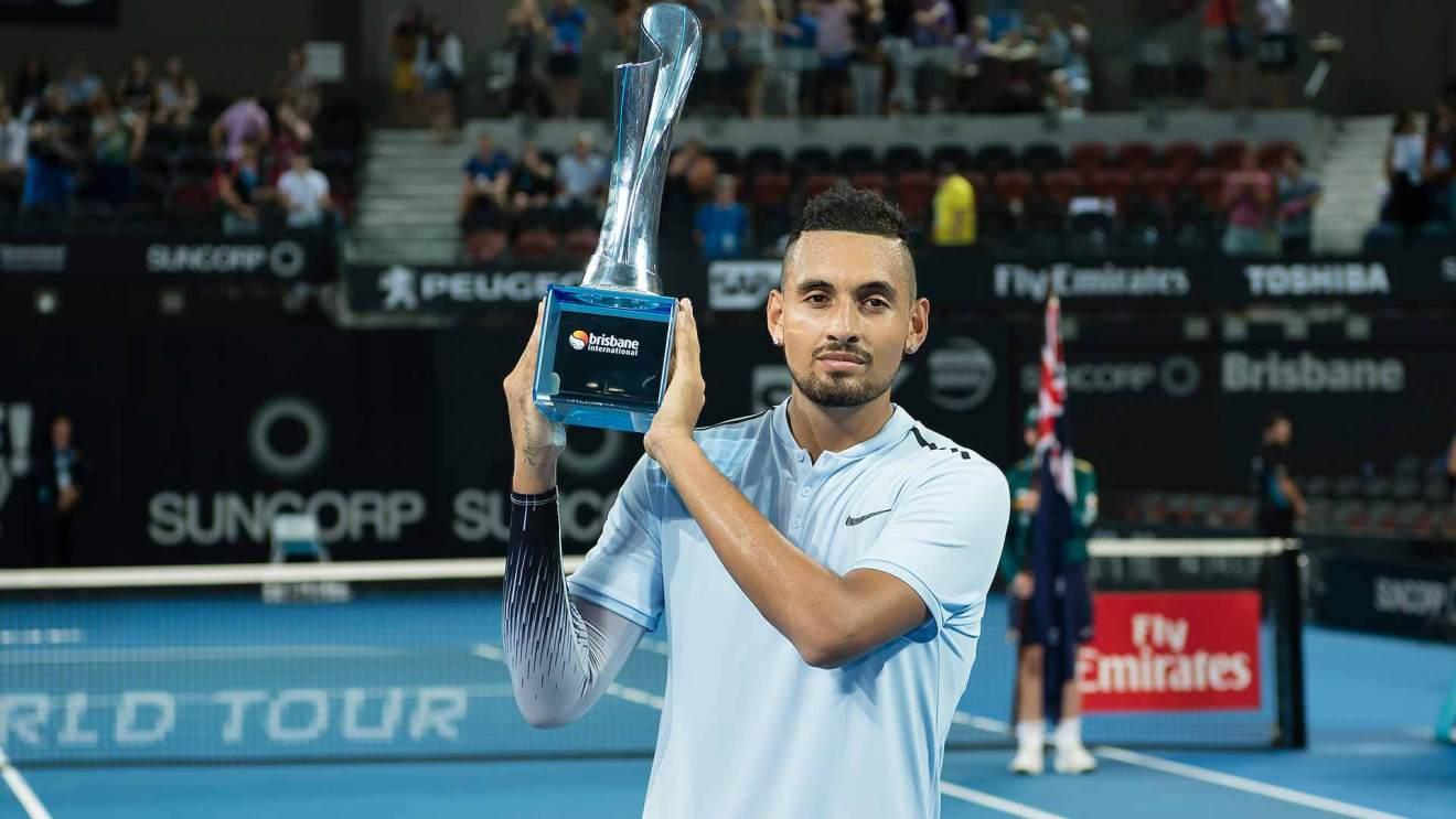Kyrgios título ATP Brisbane 2018