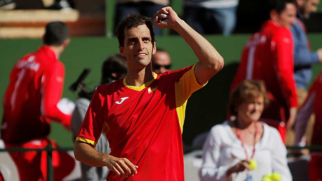 Albert Ramos Copa Davis España