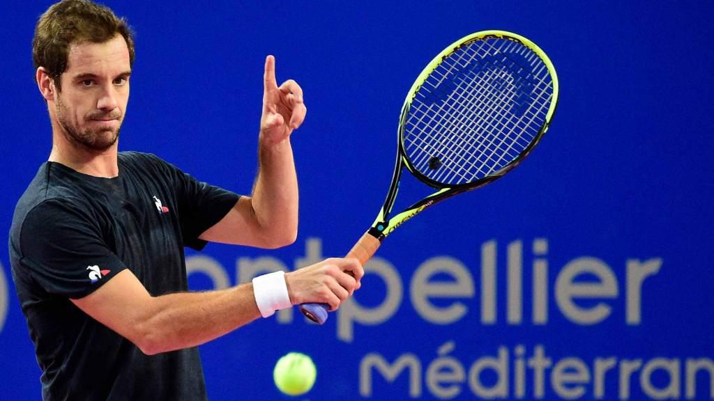 Gasquet pide ojo de halcón en el ATP de Montpellier