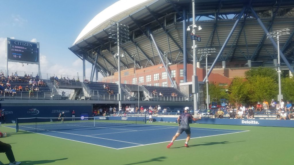 Un partido disputado en el US Open