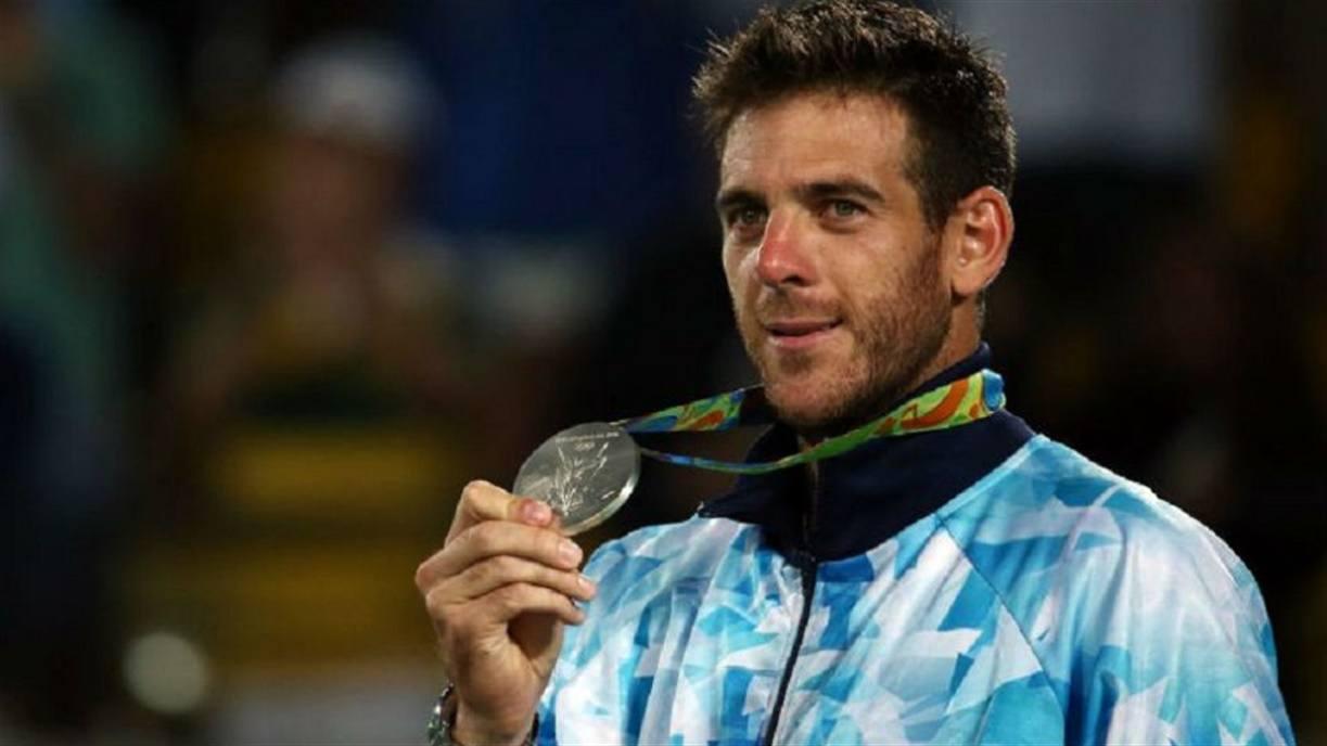 Del Potro emocionado con la medalla de plata en los Juegos Olímpicos de Río de Janeiro