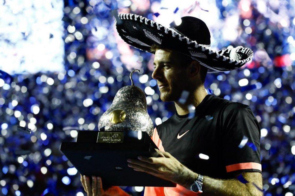 Del Potro con el título del ATP de Acapulco