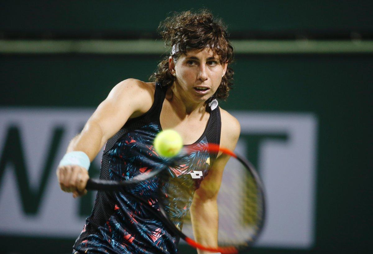 Carla Suárez Navarro en Indian Wells 2018