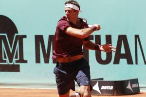 Del Potro en el Mutua Madrid Open