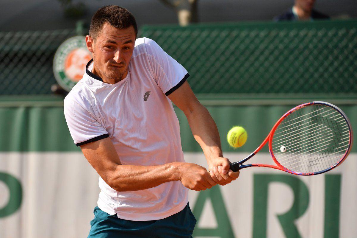 Bernard Tomic en la clasificación de Roland Garros 2018