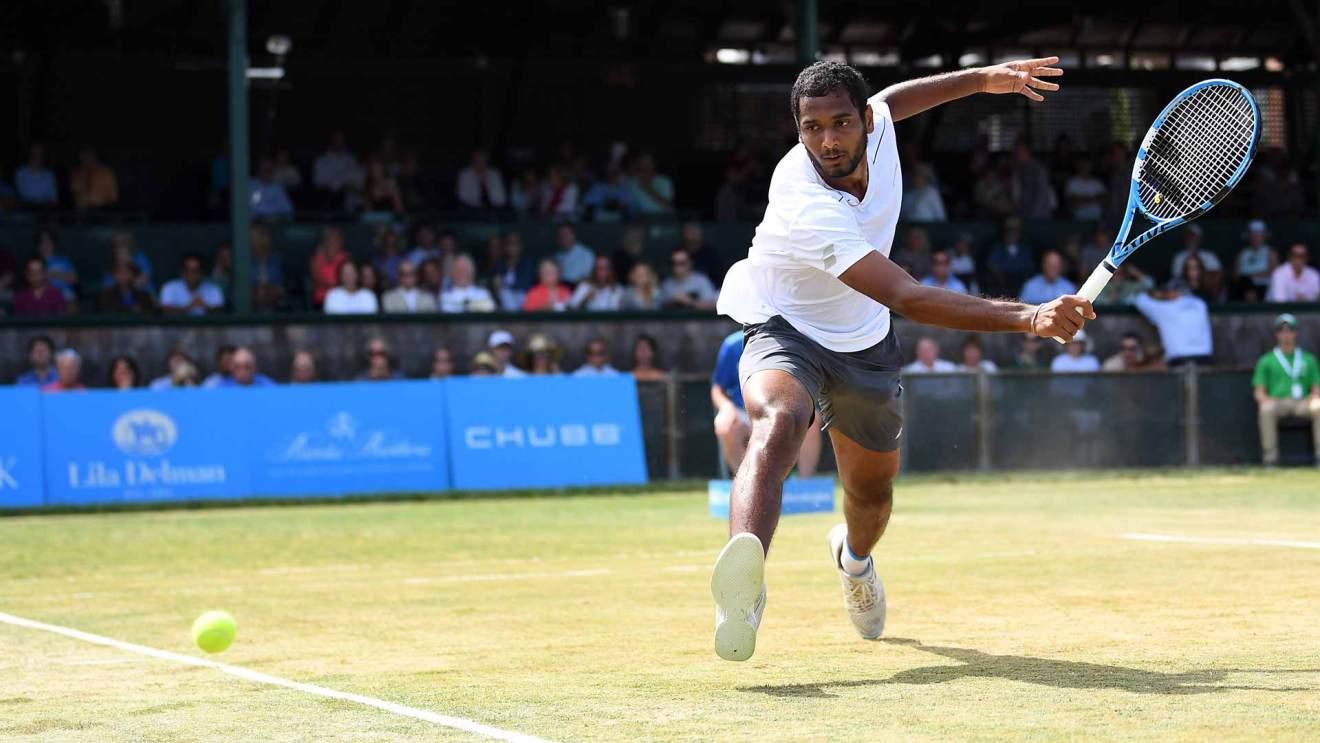 Ramkumar Ramanathan sorprende en Newport! Foto: atpwprldtour.com