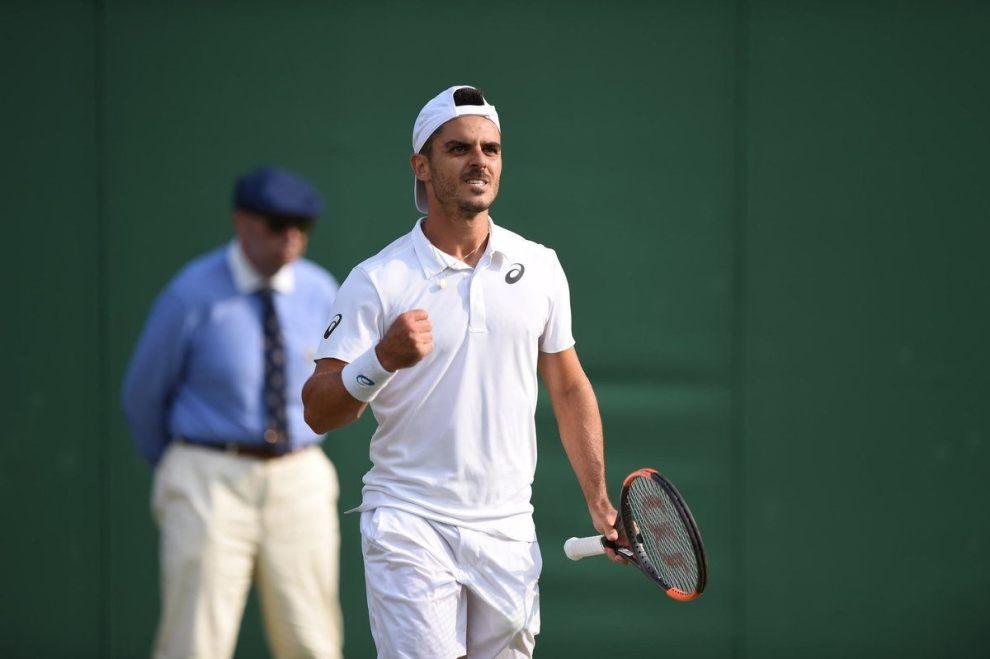 Fabbiano en Wimbledon