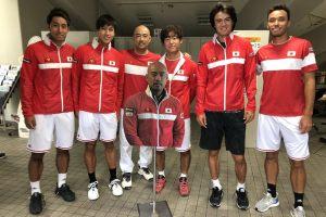 El equipo de Japon se prepara para la serie ante Bosnia y Herzegovina, Copa Davis 2018 | Foto: @DavisCupEl equipo de Japon se prepara para la serie ante Bosnia y Herzegovina, Copa Davis 2018 | Foto: @DavisCup