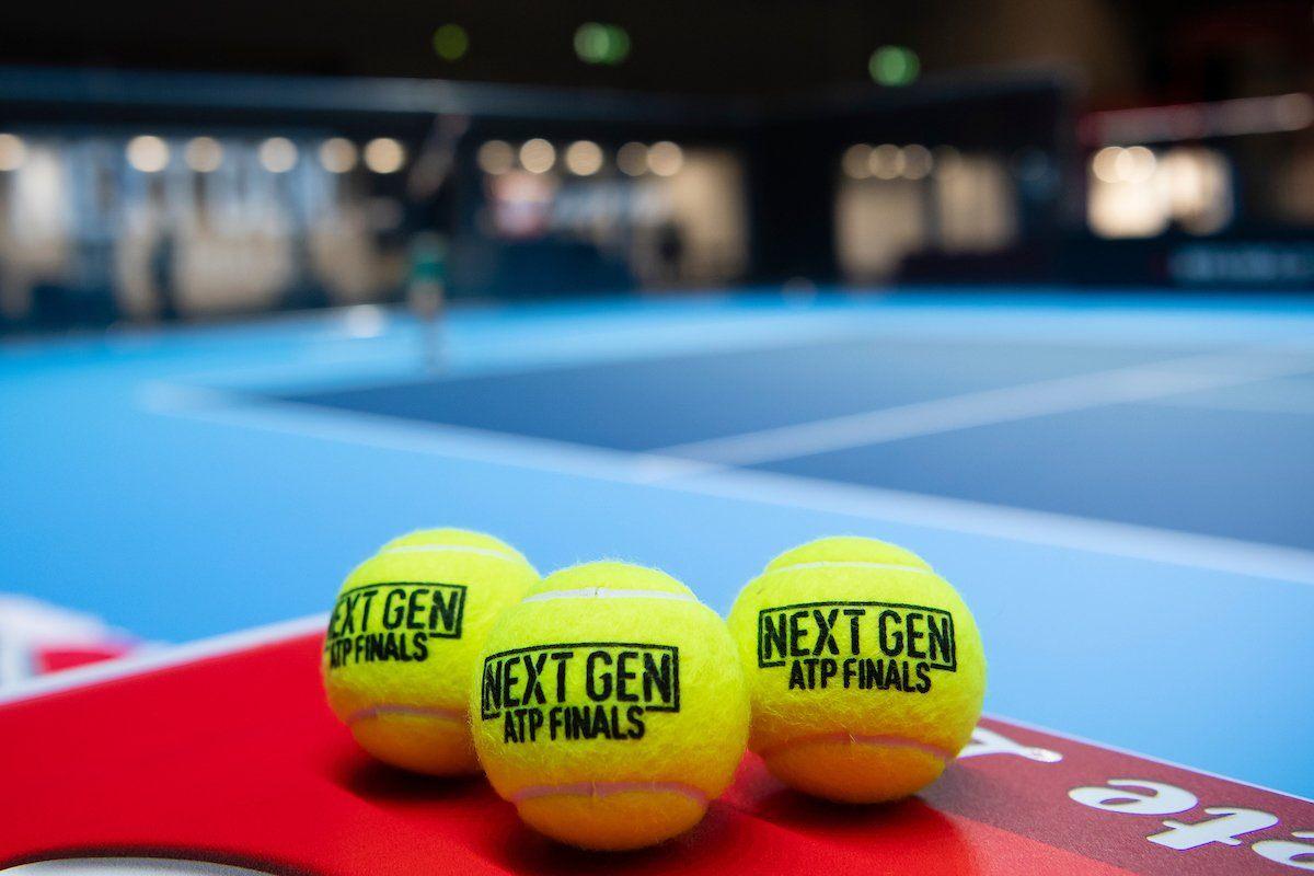 Pelotas de la la Next Gen ATP Finals
