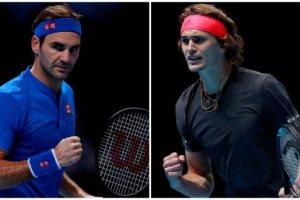 Federer y Alexander Zverev