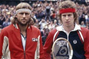 McEnroe y Borg Wimbledon