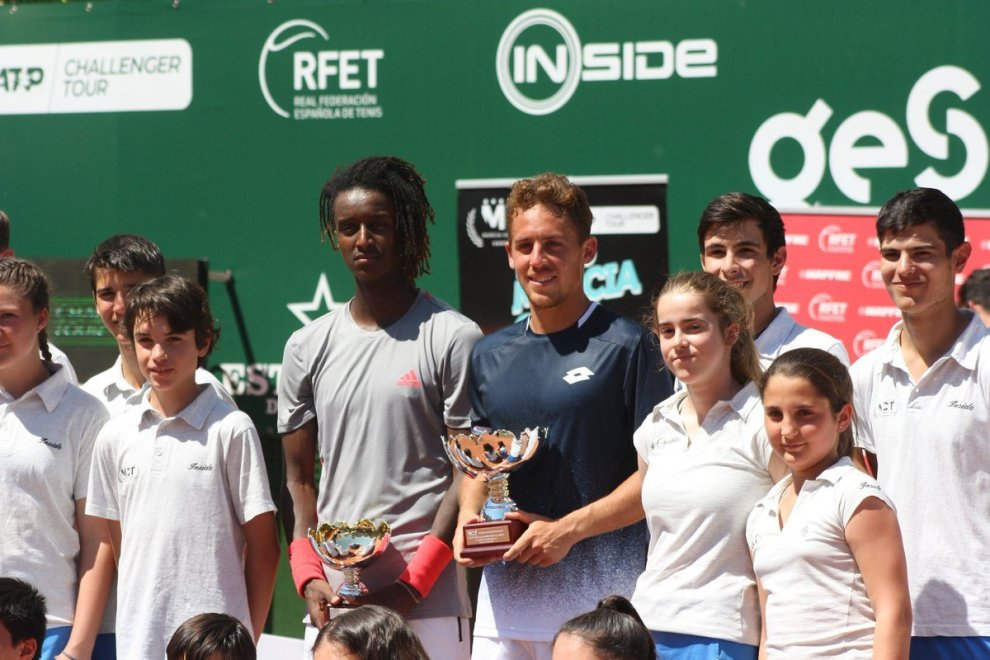 Carballés Baena y Mikail Ymer Challenger Murcia