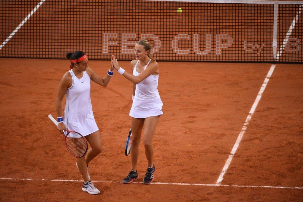 Mladenovic y García Fed Cup 2019
