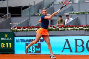 Simona Halep WTA Mutua Madrid Open
