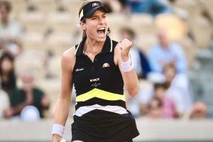 Johanna Konta Roland Garros 2019
