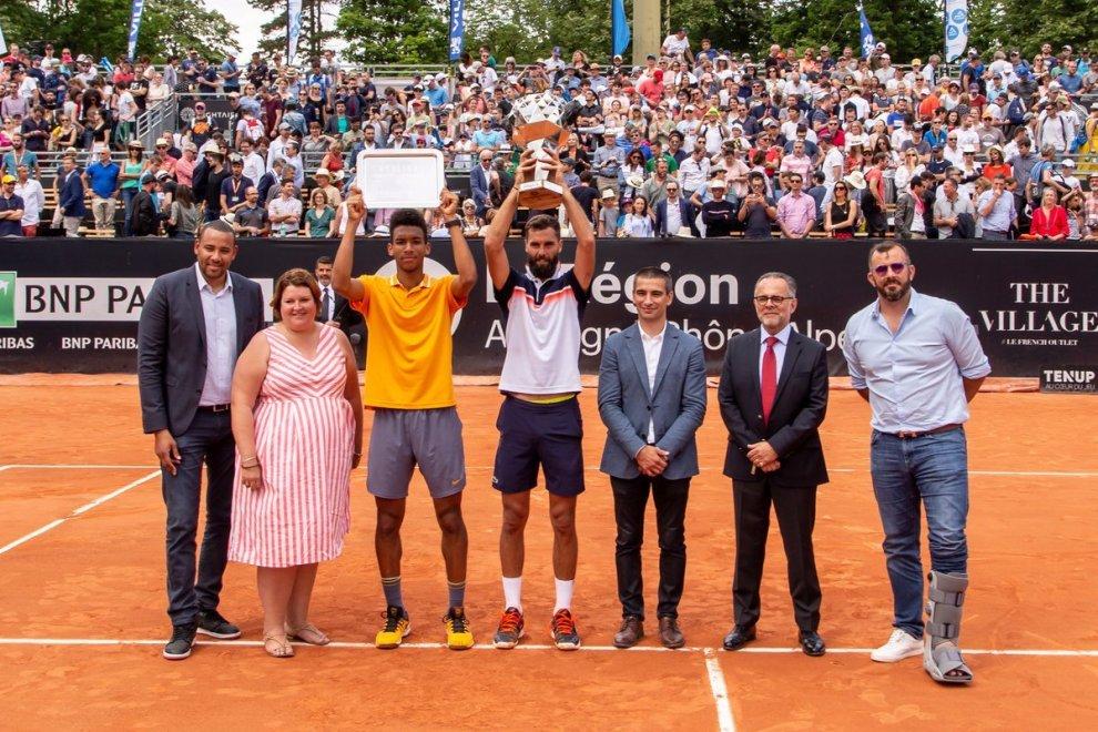 Benoit Paire campeón en el ATP Lyon 2019