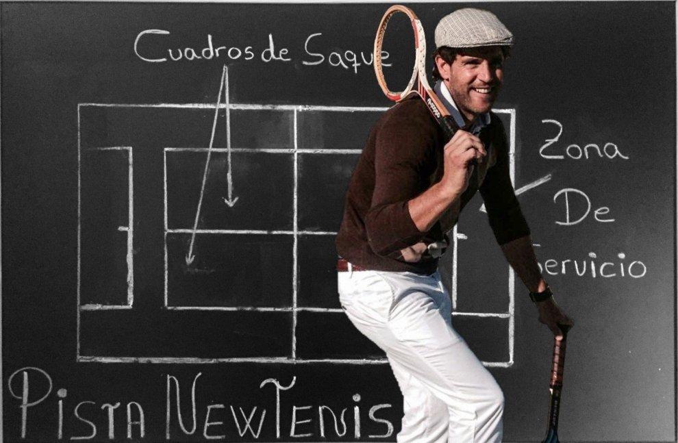 Eduardo Sánchez creador del newtenis