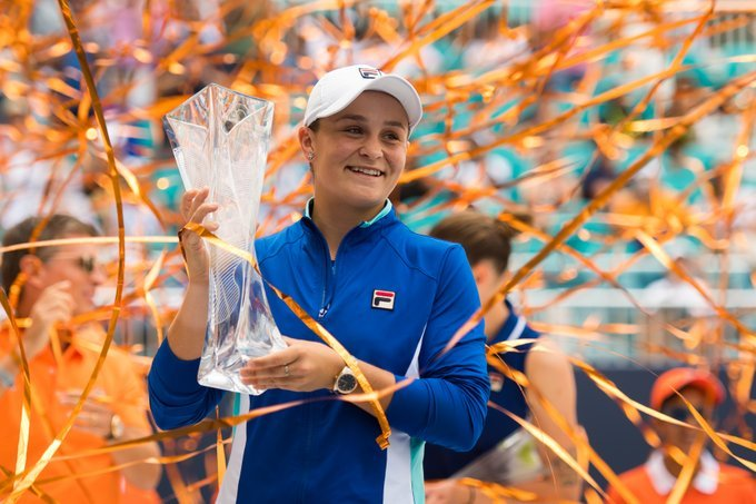 Barty WTA Finals 2019