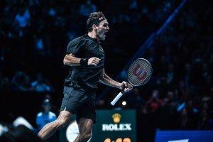 Federer Djokovic Nitto ATP Finals 2019