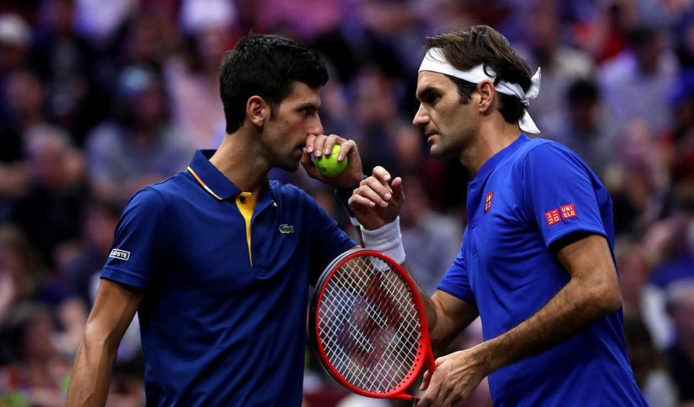 Números enfrentamientos Federer Djokovic