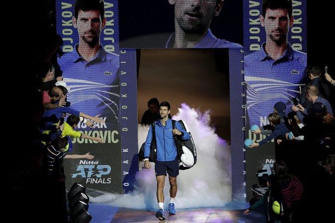 Djokovic Berrettini Nitto ATP Finals 2019