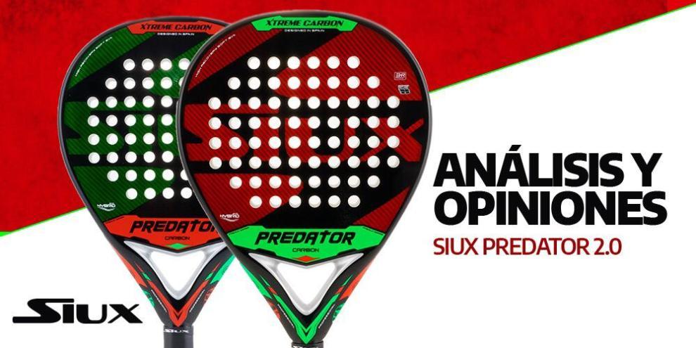 Review pala de pádel Siux Predator 2.0