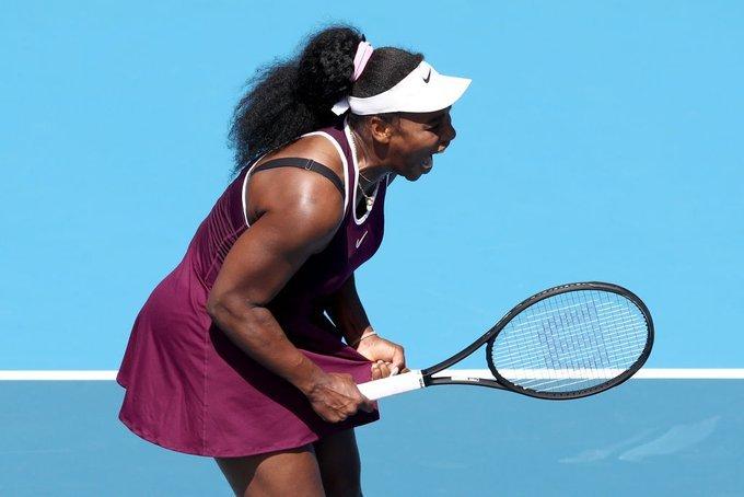 Serena Williams Siegemund WTA Auckland