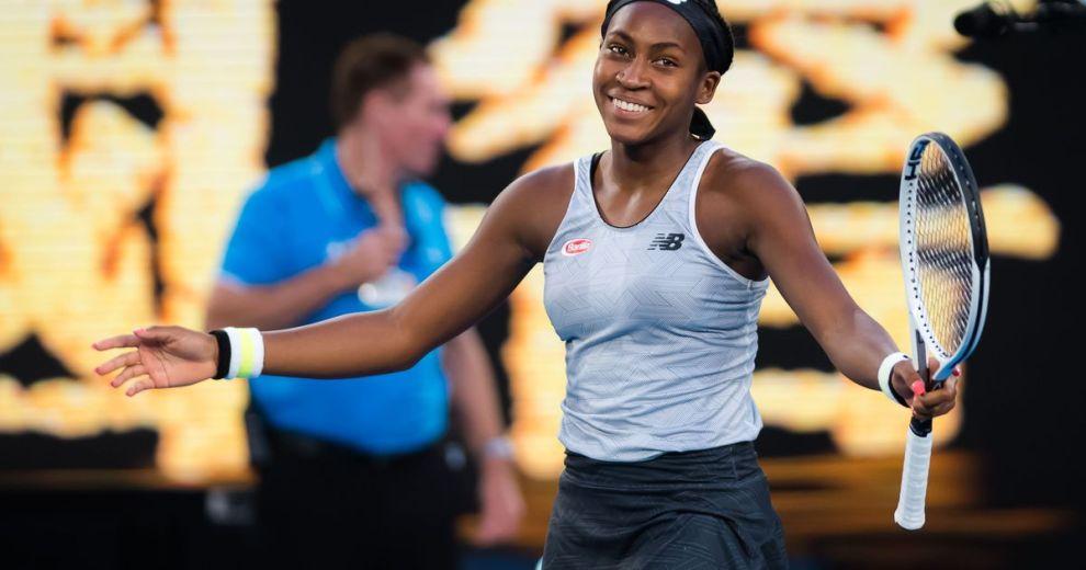 Cori Gauff Australian Open 2020