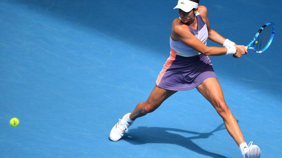 Muguruza Bertens Australian Open 2020